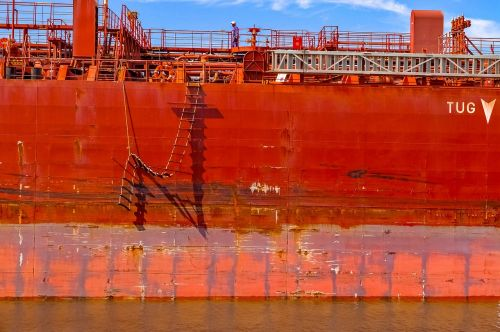 hull rust rusted