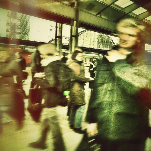 human railway station restless