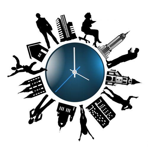 human clock time