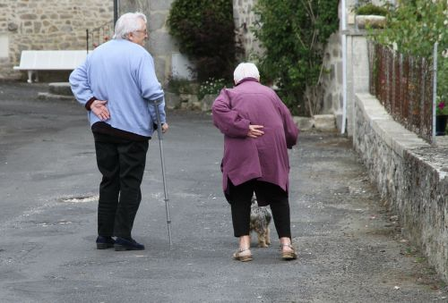 human older people care for the elderly