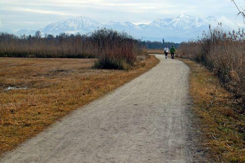 žmogus,Asmeninis,pora,juostos,kelias,toli,purvo kelias,Alpių kelias,pieva,šaligatvis,gamtos takas,gamta,komercinis kelias,žygiai,vaikščioti,eiti,vaikštynės