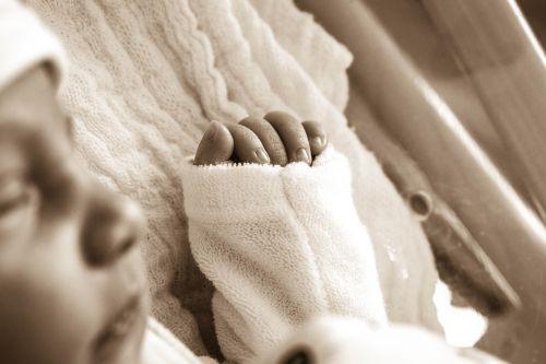 human baby infant