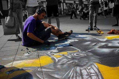 human  artists  painter