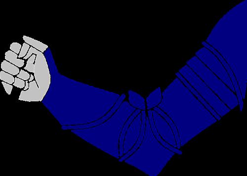 human arm fist