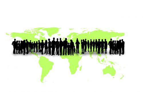 humanity earth globe