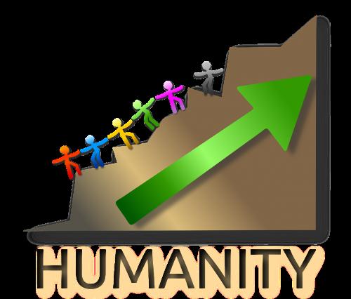 humanity pin poster