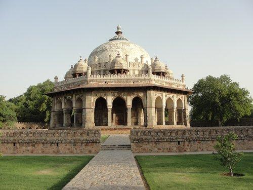 humayun's tomb  delhi  india
