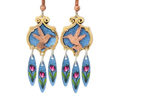 hummingbird jewelry earrings