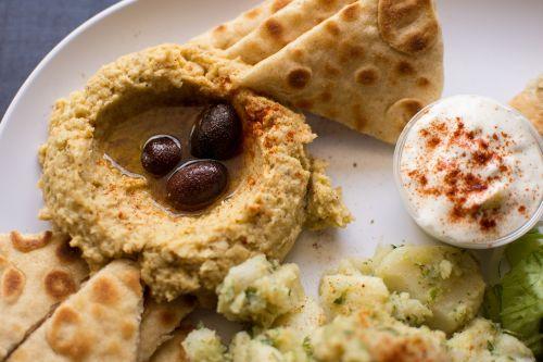 hummus authentic greek greek food