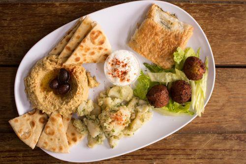 hummus falafel authentic greek