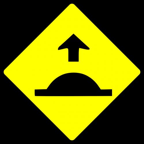 hump speed breaker bump