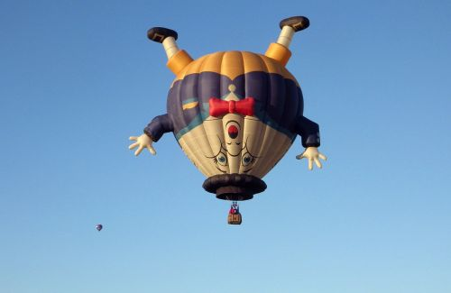 humpty dumpty hot-air balloon balloon