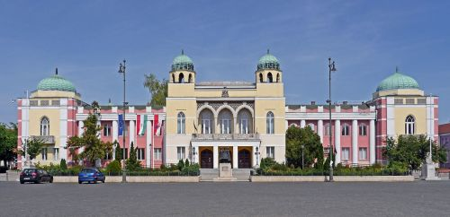 hungary mohács town hall