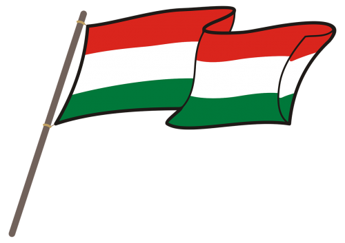 hungary flag graphics