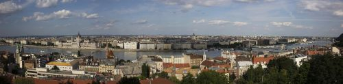 hungary budapest panorama