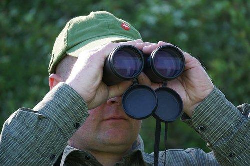 hunter  binoculars  optics