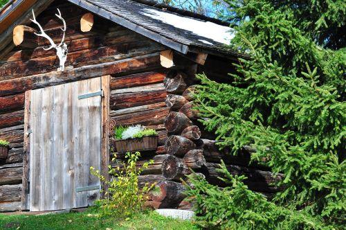 medžiotojų namai,atostogos,mediena,antler