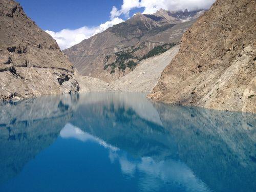 lake ataabad lake hunza