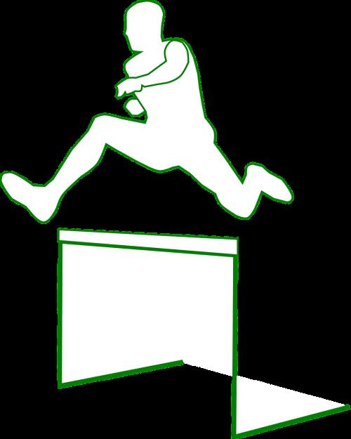 hurdles jump sports