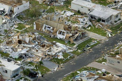 hurricane devastation charley