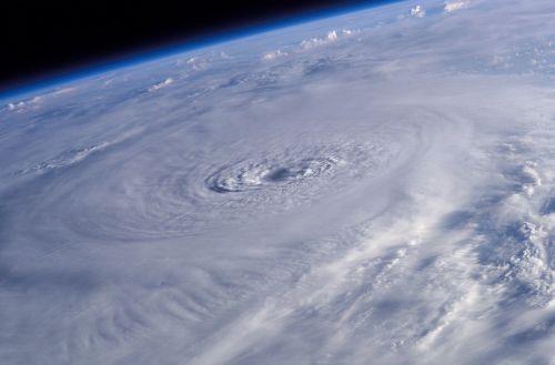 hurricane lili international space station earth
