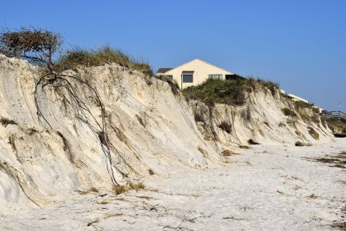 hurricane matthew beach erosion weather