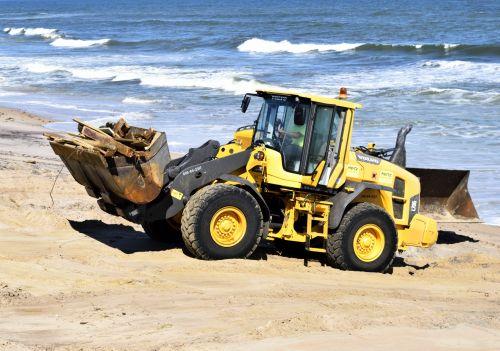 Hurricane Matthew Beach Clearing