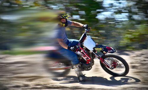 hurry bike fast