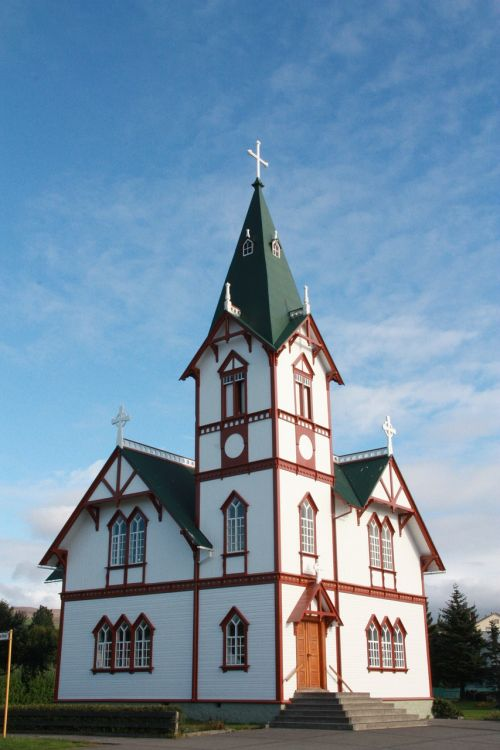 húsavík church north iceland