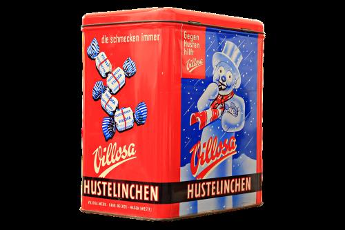 hustelinchen cough drops storage jar
