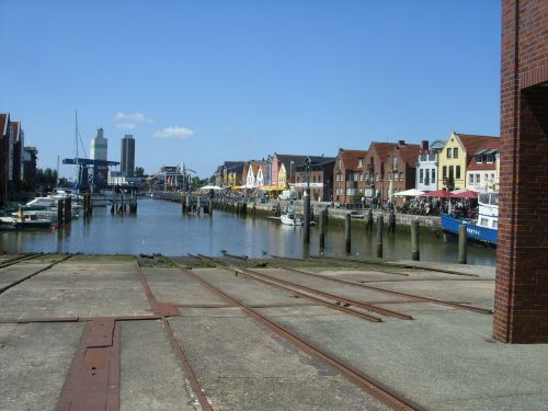 husum port north sea