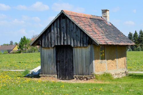 hut small house truss