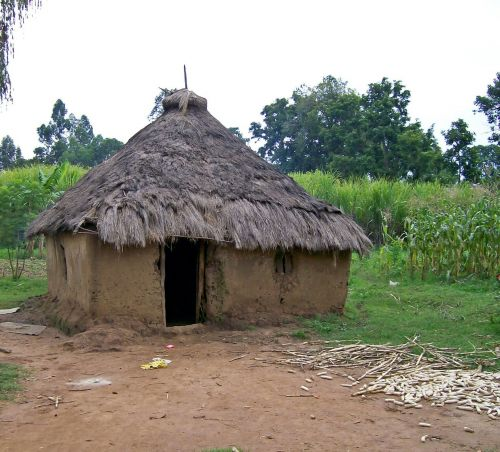 hut kenya africa
