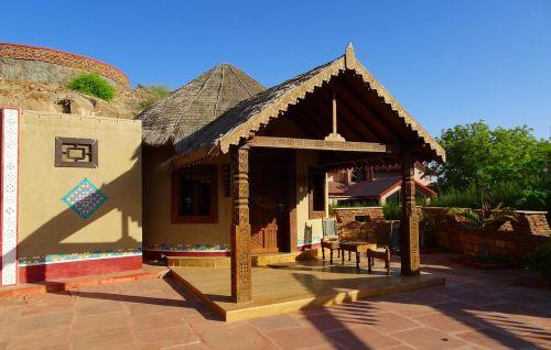 hut bhunga rustic