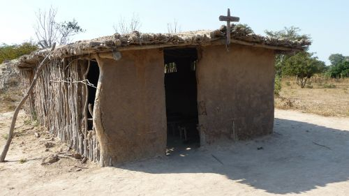hut africa church