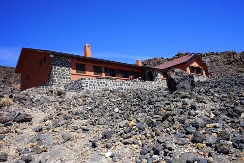 hut mountain hut rest house