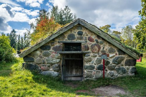 hut skansen traditional