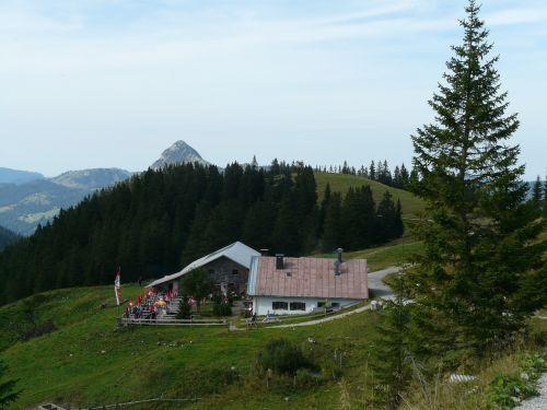 hut mountain hut home