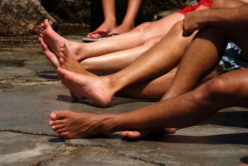 hydra greece feet