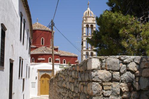 hydra greece orthodox church