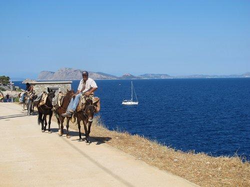 hydra  greece  landscape