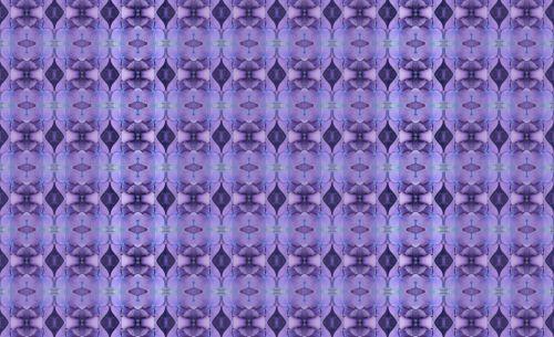 Hydrangea Petal Repeat Pattern