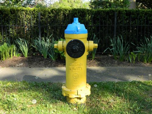 hydrant water connection fire extinguishing system