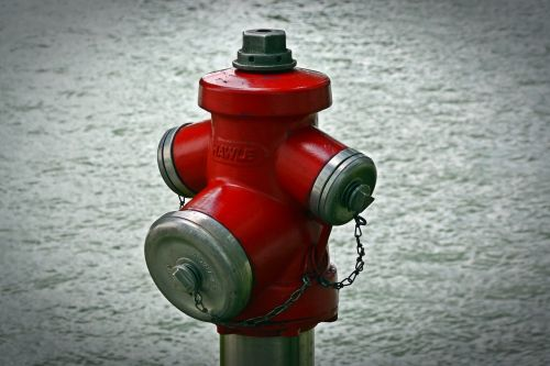 hydrant water red