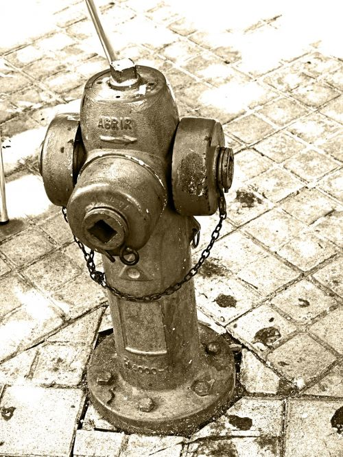 hydrant iron firefighter