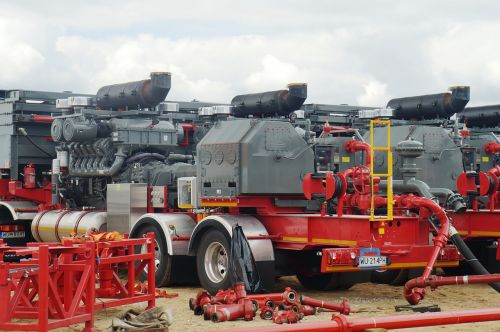 hydraulic fracturing pump units shale gas