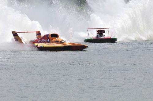 hydro racing boats water