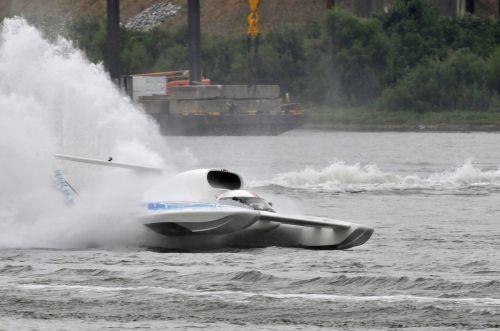 hydro racing boat water