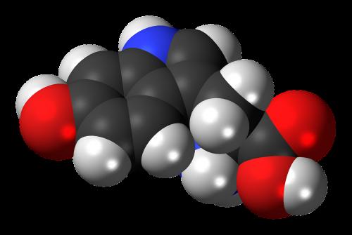 hydroxytryptophan chemistry atoms