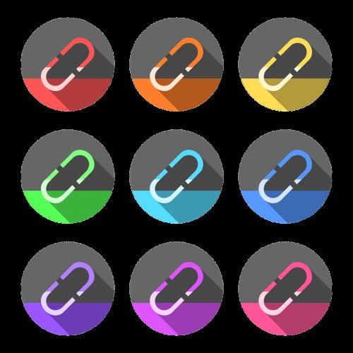 hyperlink paper clip links